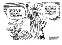 Statue of Liberty repairs by Jimmy Margulies