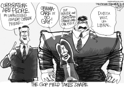 GOP Gone Wild by Pat Bagley