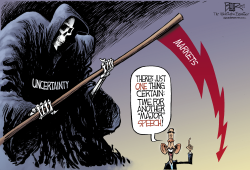 The Grim Speaker  by Nate Beeler