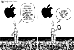 Apple Without Jobs by Nate Beeler