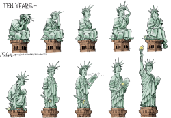 Ten Years After 9/11 by Joe Heller
