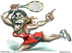 Serena Williams -  by Taylor Jones