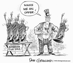 America for sale by Dave Granlund