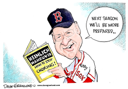 Red Sox bad ending by Dave Granlund