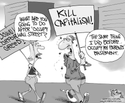 Wall Street Occupiers by Gary McCoy