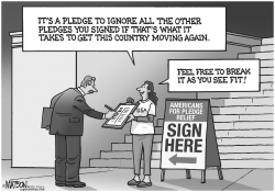 Americans For Pledge Relief by RJ Matson