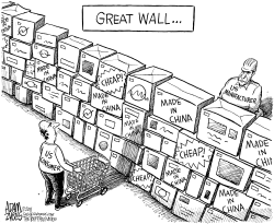 Great Wall by Adam Zyglis