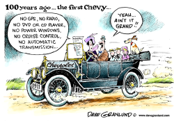 Chevrolet 100th anniversary by Dave Granlund