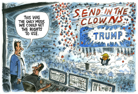 Send in the clowns - Trump Rally by Chris Slane