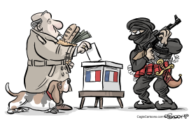 French Presidential Elections by Martin Sutovec