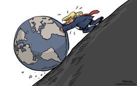 Trump Vs World by Martin Sutovec