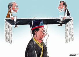 China balance Pakistan and India by Sabir Nazar