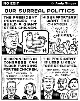 Surreal Politics by Andy Singer