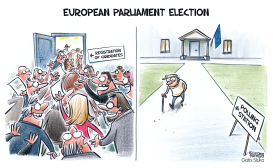 European Parliament election by Gatis Sluka