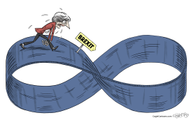 Theresa May's Loop by Martin Sutovec