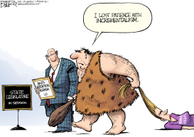 Abortion Caveman by Nate Beeler
