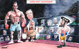Middle East Championship by Sabir Nazar