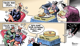 Trade wars then and now by Paresh Nath