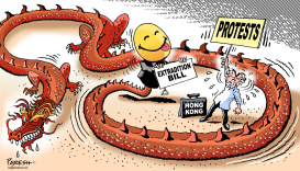 Hong Kong on extradition by Paresh Nath