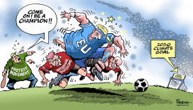 EU climate target by Paresh Nath