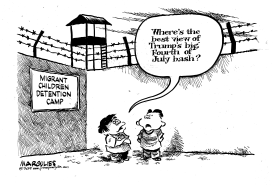 Migrant Children Detention by Jimmy Margulies
