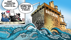 Britain existential threat by Paresh Nath