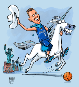 Porzingis deal with Mavs by Gatis Sluka