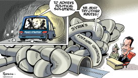 Syria peace strategy by Paresh Nath
