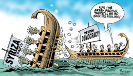 Greek elections by Paresh Nath