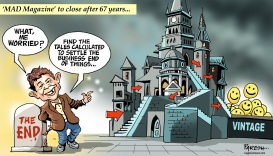 MAD magazine to close by Paresh Nath