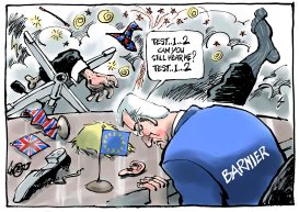 EU tries to keep the conversation going by Jos Collignon