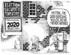 Election Security by John Darkow