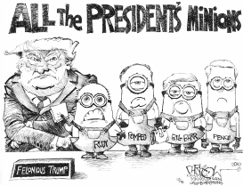 All the President's Minions by John Darkow