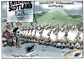 Scotland Brexit Backstop by Jos Collignon