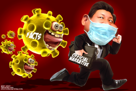 Corona Virus Backfires on President Xi by Bart van Leeuwen