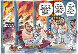 Rome is Burning Deniers  by Chris Slane