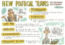 New Political Terms by Chris Slane