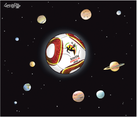 World Cup solar system by Patrick Corrigan