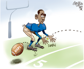 Obama drops the ball by Patrick Corrigan