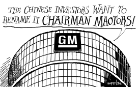 Chinese buying GM by Michael McParlane