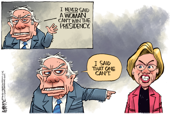 Sanders vs. Warren: The clash that had to happen erupts on a surprising issue